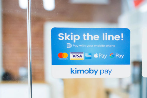 Kimoby Pay sticker