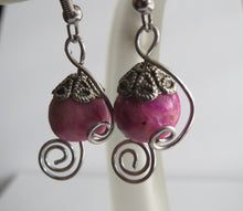 Load image into Gallery viewer, Earrings Handmade Polymer bead