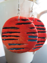 Load image into Gallery viewer, Earrings handmade polymer clay