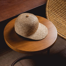 Load image into Gallery viewer, Natural Straw cap | Paleae Brasilis