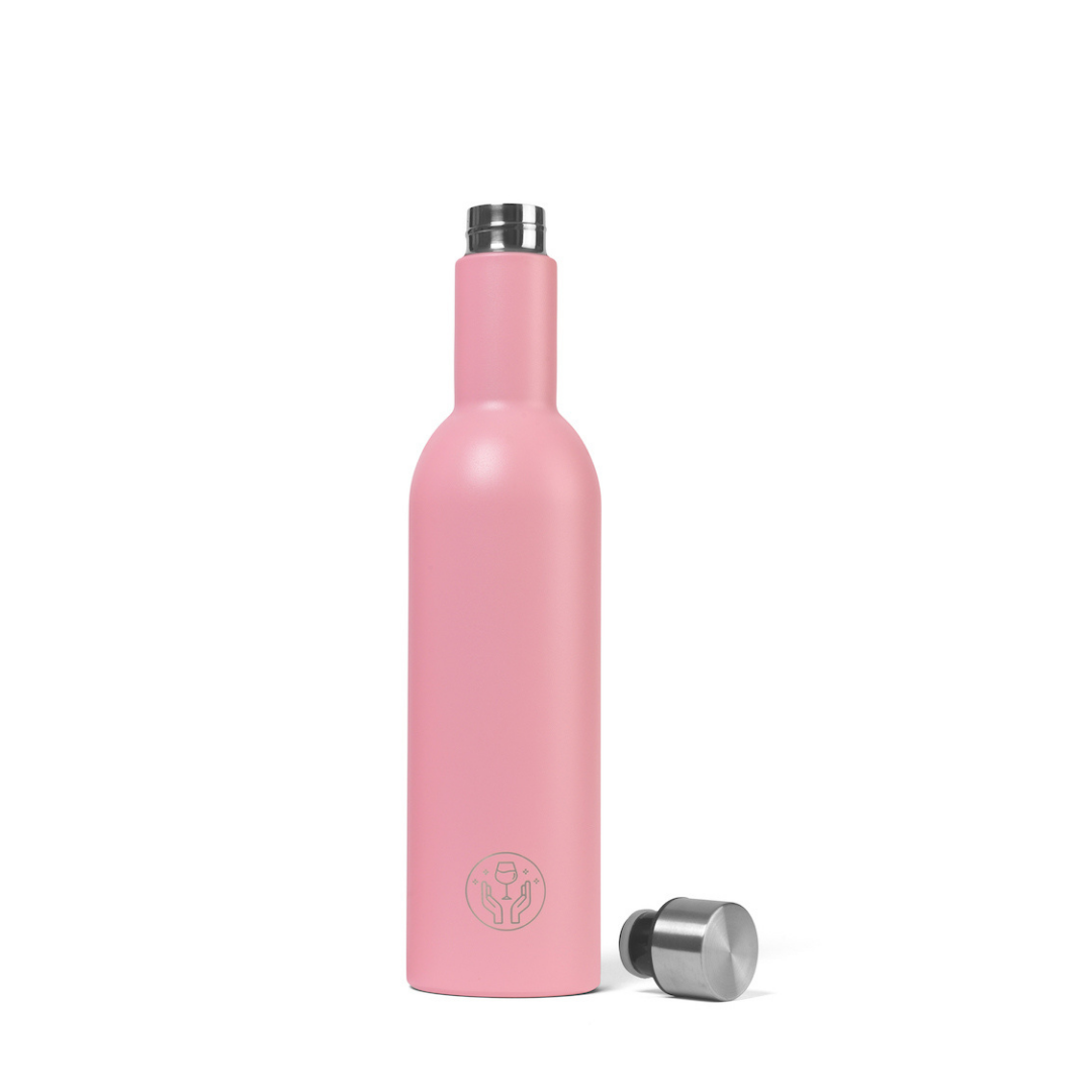 The Partner in Wine Bottle - Pink