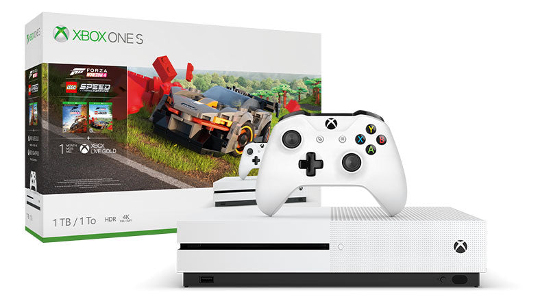 Xbox One S Forza Horizon 4 LEGO® Speed Champions Bundle 1TB