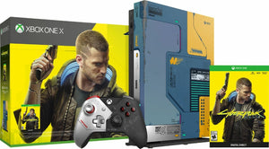 Xbox One X 1TB Console – Cyberpunk 2077 Limited Edition Bundle
