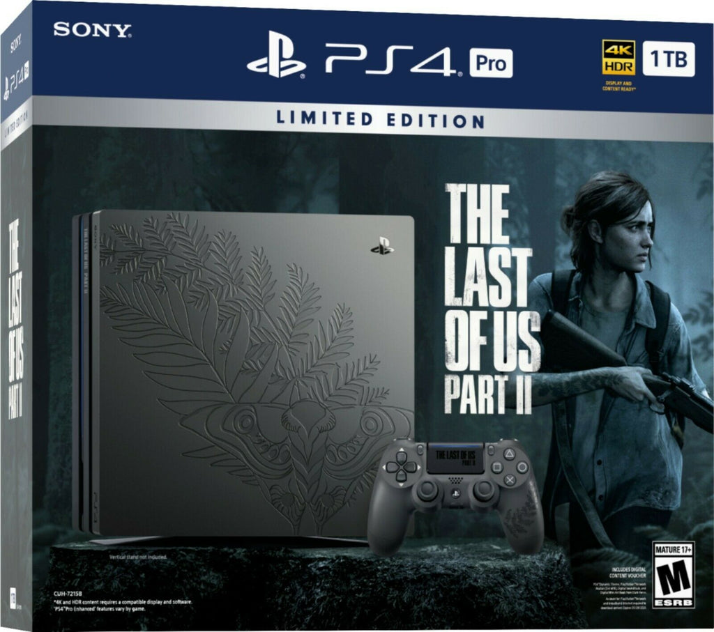 The Last Of Us Part 2 Limited Edition PS4 Pro 1TB Console Bundle