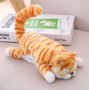 Electric rolling cat rolling cat simulation children's electric toy simulation cat