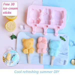 DIY Cartoon Popsicle Molds