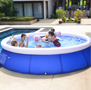 2020 The Original Easy Set Summer Pool – Inflatable 12ft x 36in Ring Pool with Filter Pump