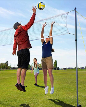 2020 Portable Height Adujstable Badminton /Volleyball /Tennis Net Set Equipment