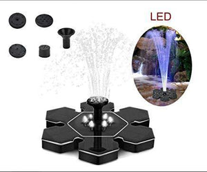 LED Solar Water Fountain