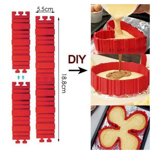 4Pcs/Set Silicone Cake Mould