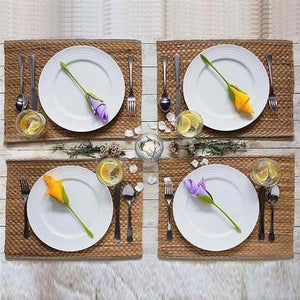 DIY Rose Napkin Folder