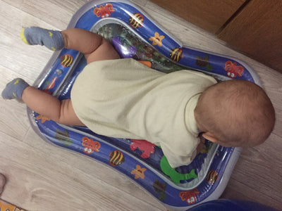 Summer inflatable water mat for babies