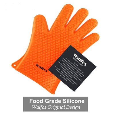 Heat Resistant Silicone Kitchen barbecue oven Glove
