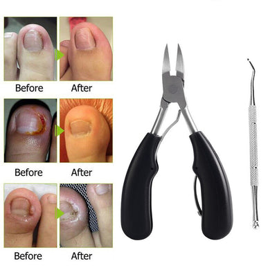 Stainless Steel Precision Toenail Clippers Cutter