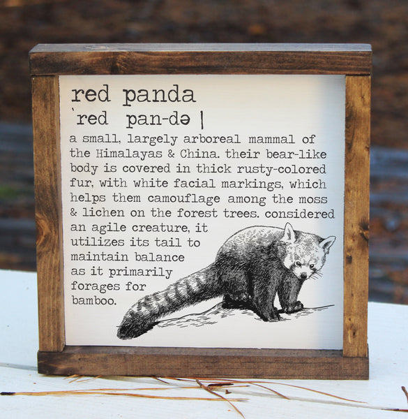 Red Panda Definition