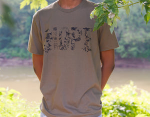 Army Green HOPE T-Shirt (Black)