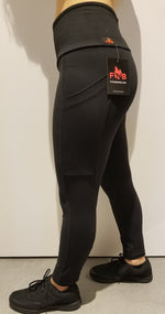 Black Legging - w/pockets
