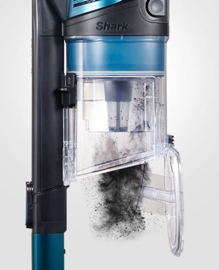 xl dust cup with CleanTouch dirt ejector