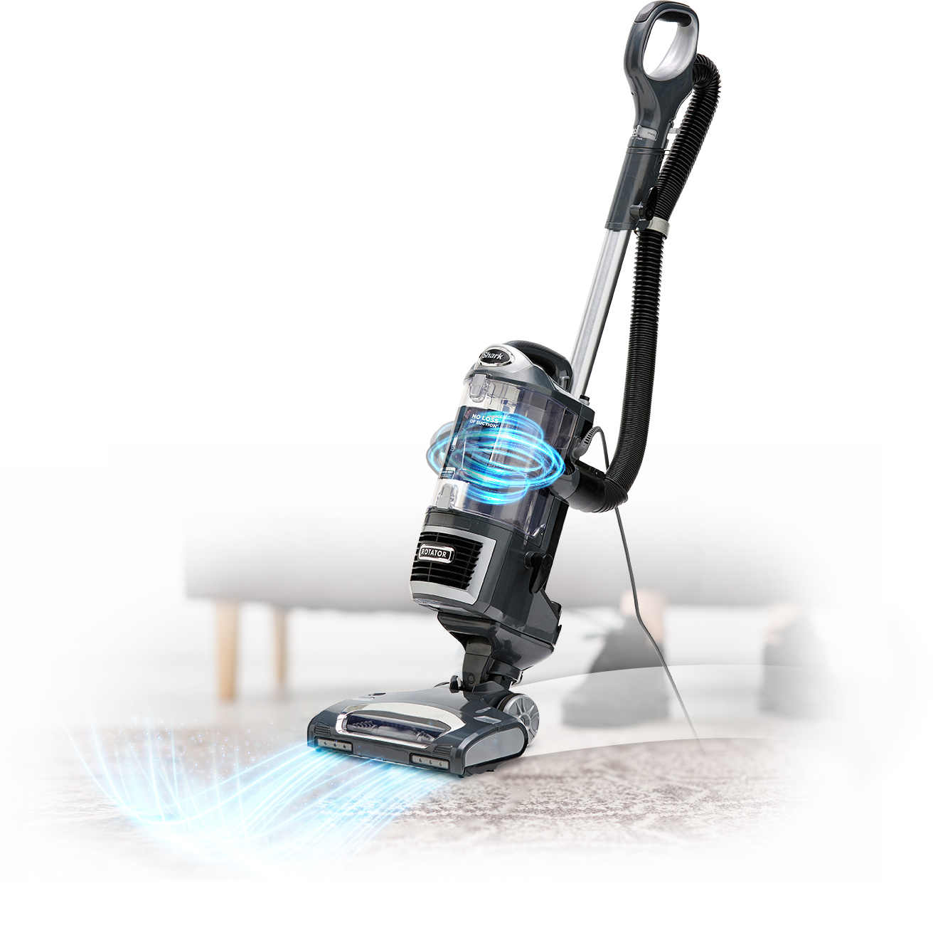 powerful suction and versatility