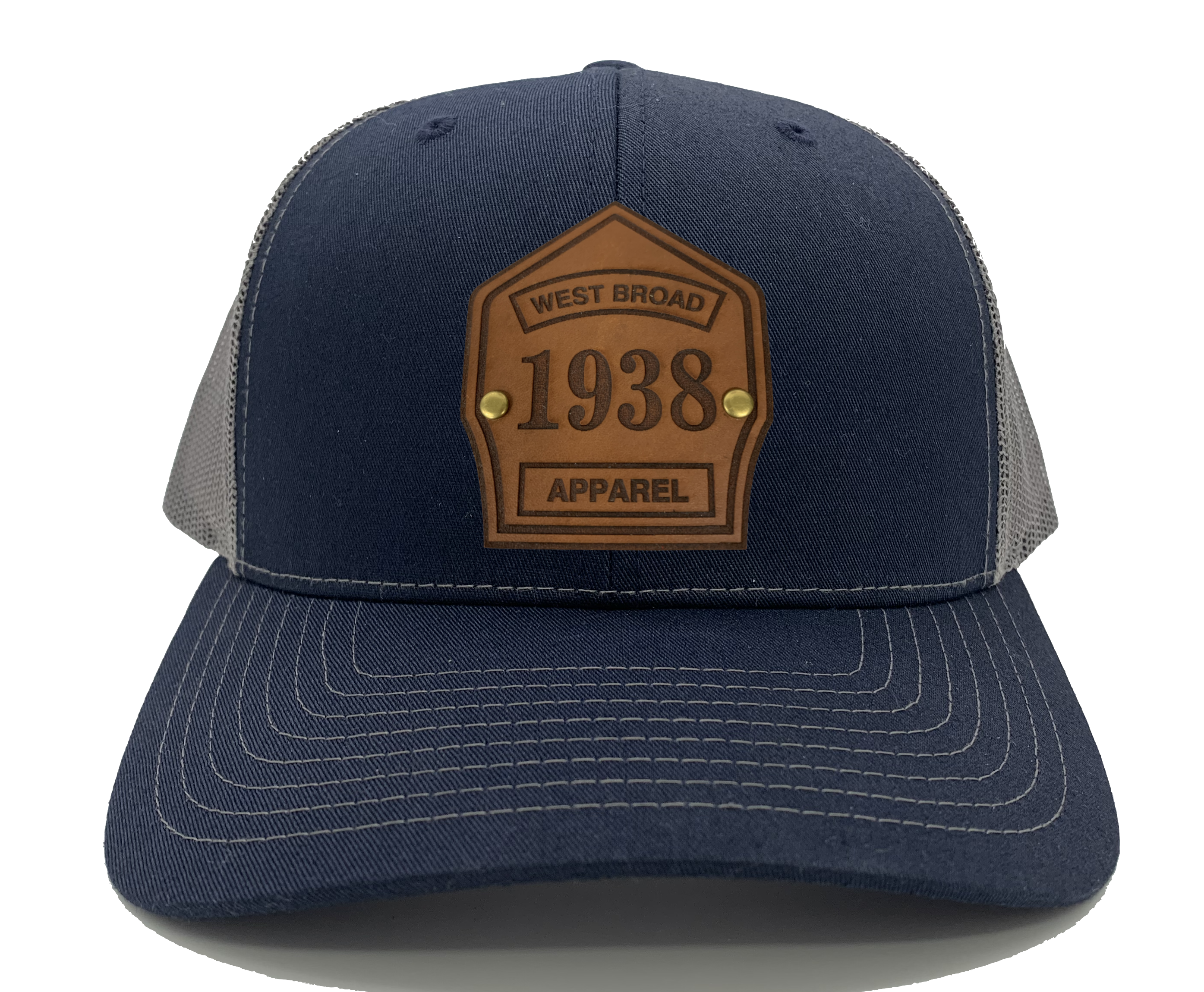 Shield Hat - Navy/Charcoal