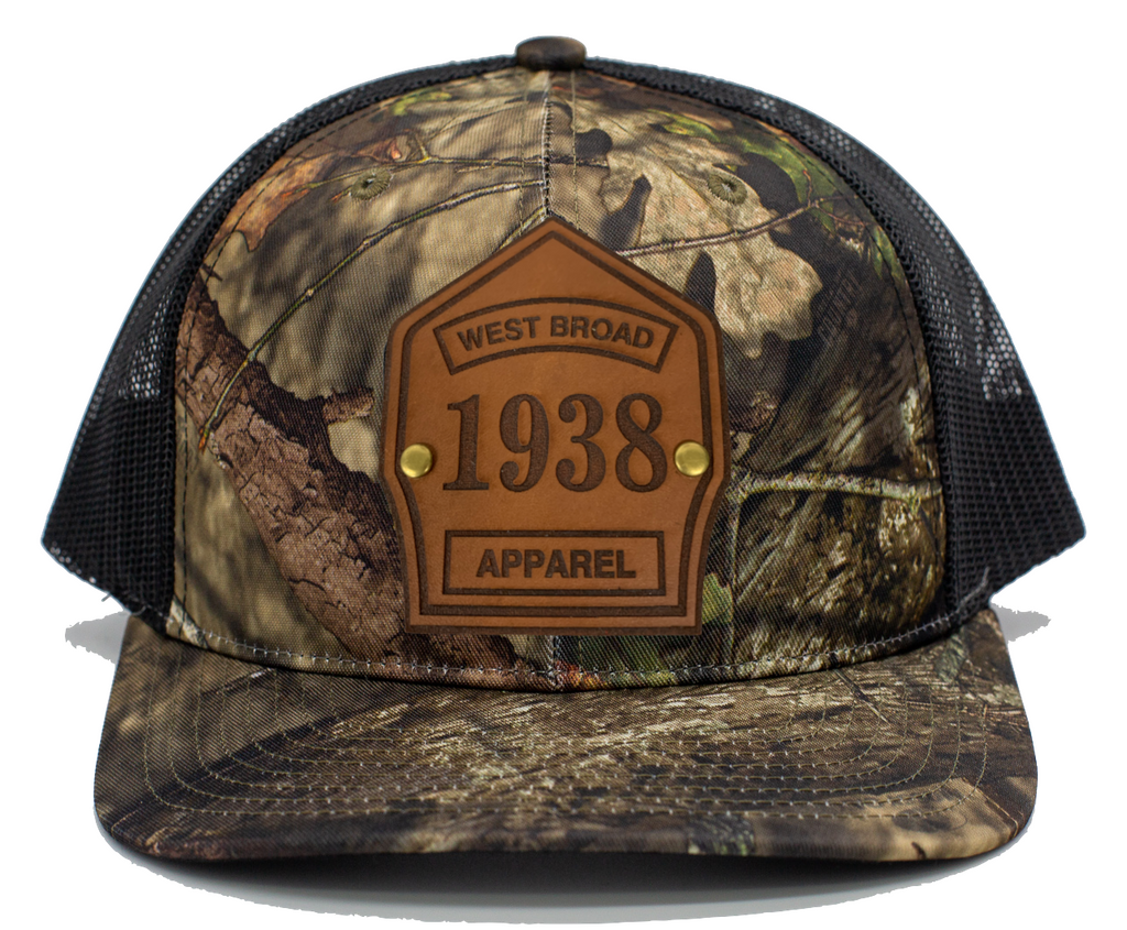 Shield Hat - Mossy Oak Country/Black Mesh