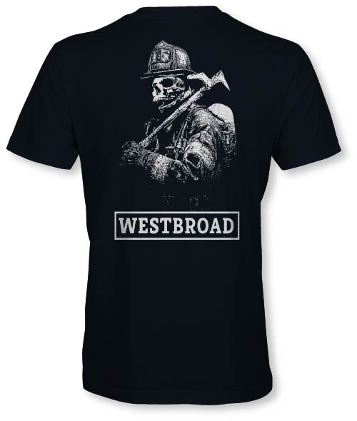 West Broad Skeleton Tee