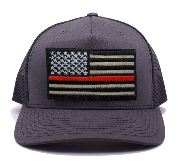 Thin Red Line Flag Hat