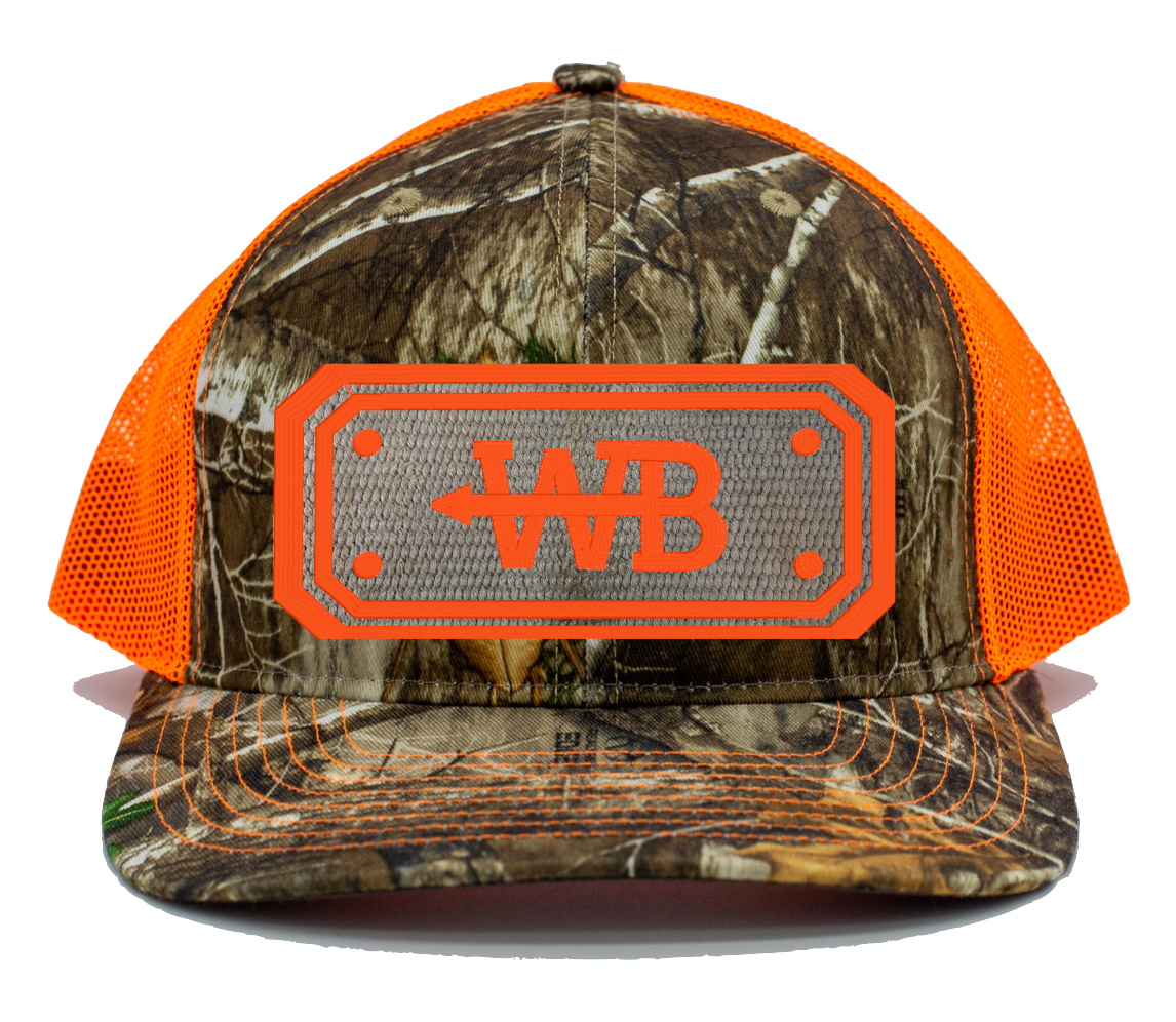 Hose Hat - Realtree Edge Camo/Neon Orange