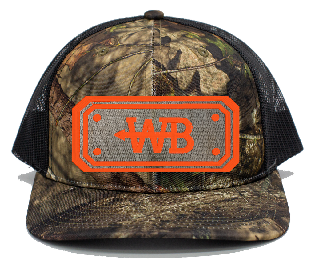 Hose Hat - Mossy Oak Country/Black Mesh