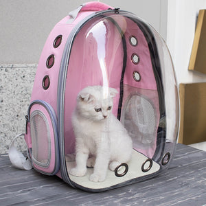 Bubble Dog Cat Pet Backpack