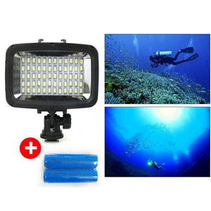 Submersible camera lamp 1800lm