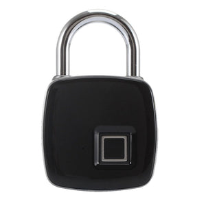 Stainless steel fingerprint padlock