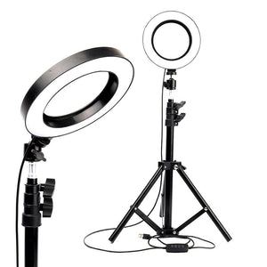 Fill light of photography ring lamp