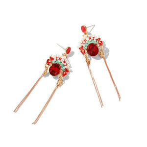 Chinese Peking Opera facial makeup Earrings