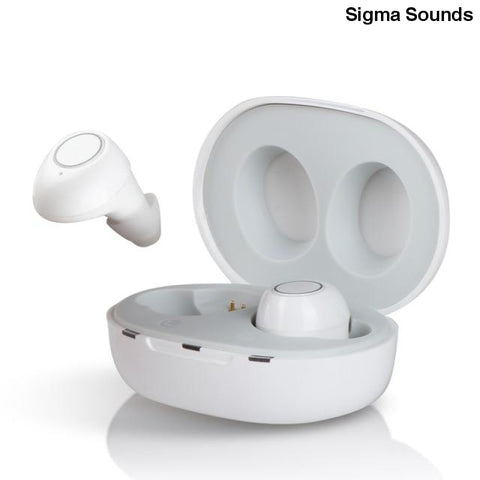 Image of 1 Pair USB Adjustable Rechargeable Mini In Ear Portable Invisible Hearing Aids For Deaf Elderly - Sigma Sound L L C