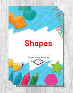 Shapes Digital Download Busy Book