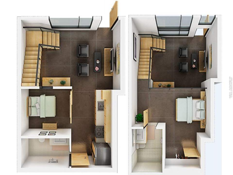 How a Floor Plan in 3D Can Help You Organize a Space with a Loft