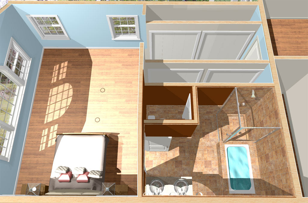 How To Use A Floor Plan In 2d To Convert A Garage Into A Master Bedroo My Site Plan