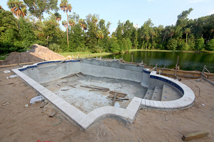 Using a Site Plan for Swimming Pool Removal or Remodel