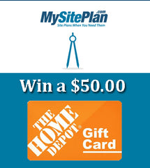Enter to Win a $50 Gift Card to Home Depot