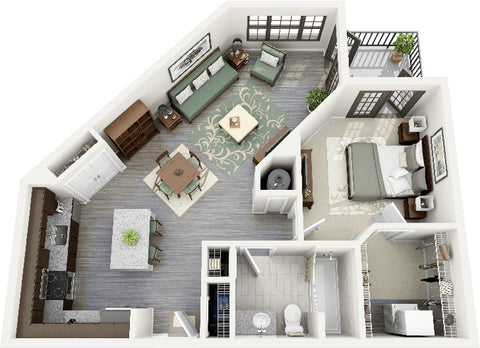 Impress Your Mother-In- Law with a Floor Plan for Your New Apartment