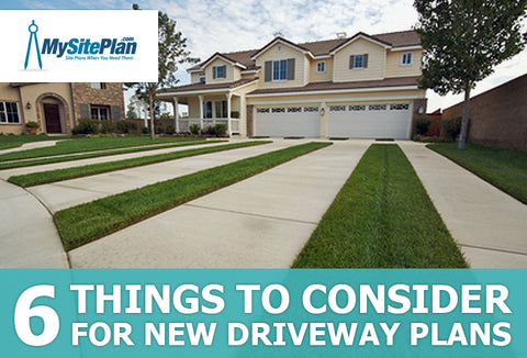 6 Things to Consider for New Driveway Plans