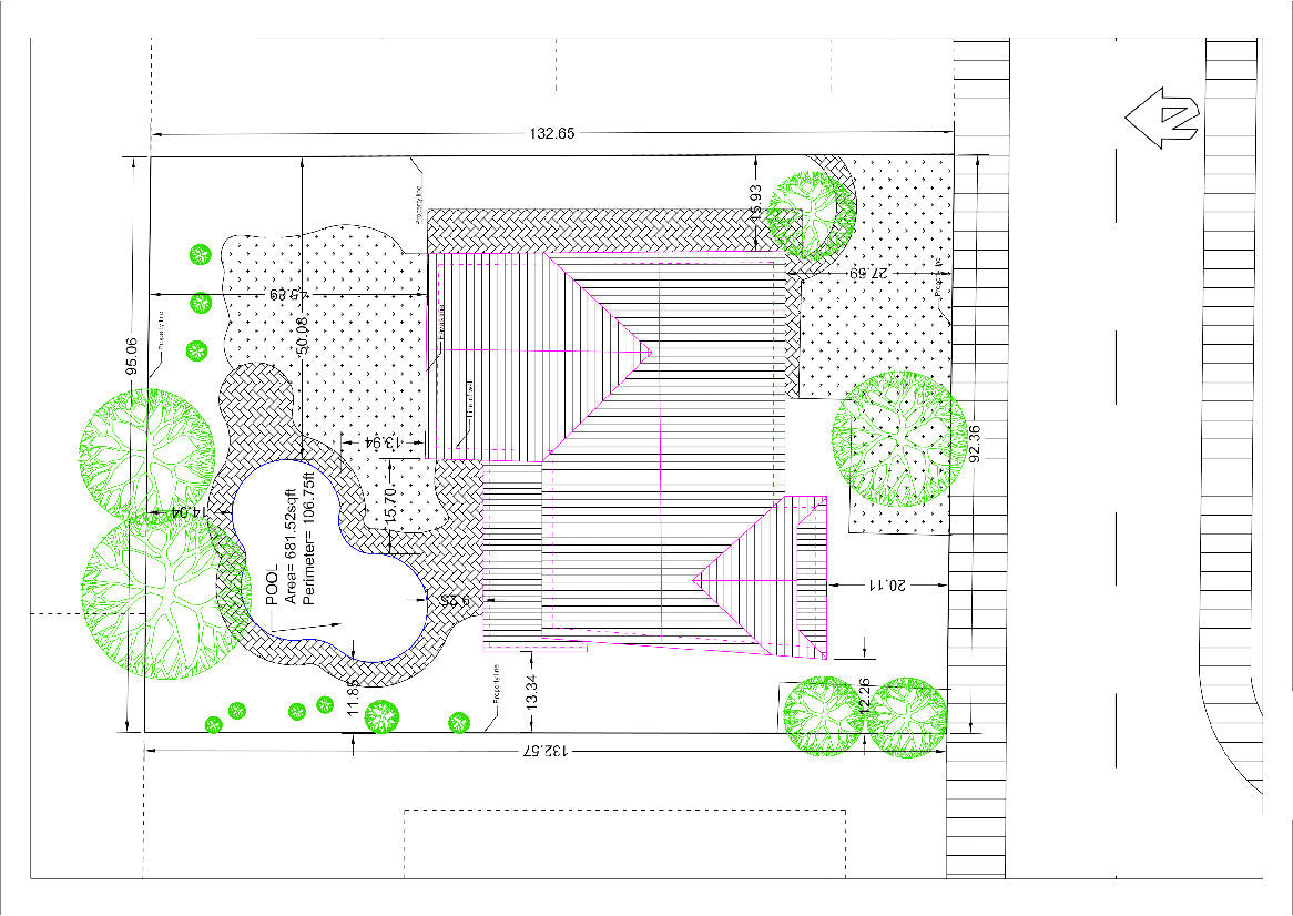 Detailed site plan my site plan for Site plan dimensions