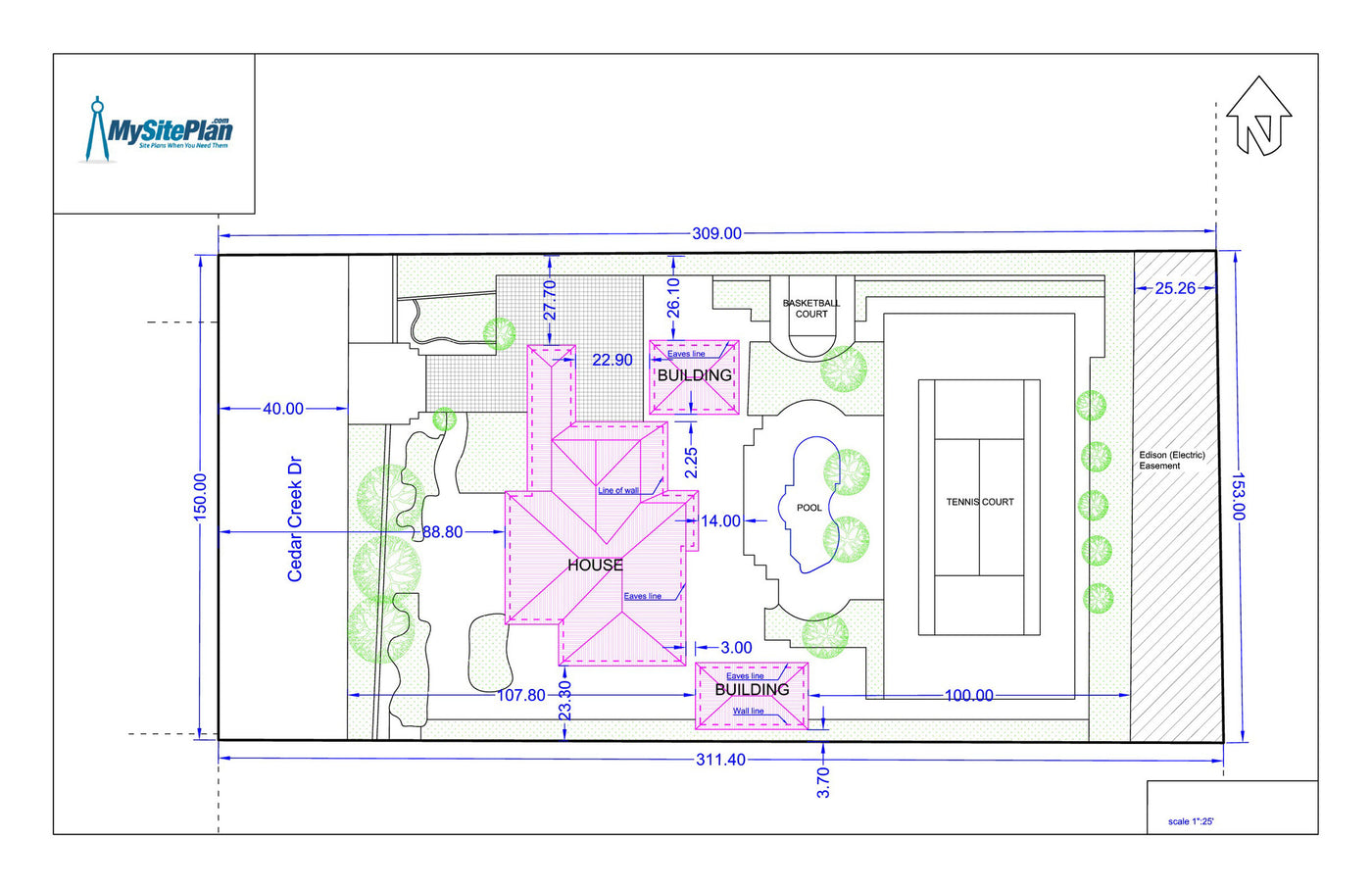 Detailed Site Plan My Site Plan – What Is Site Plan
