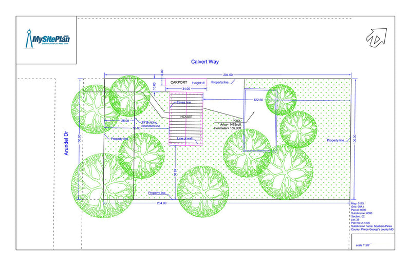 Detailed Site Plan My Site Plan – Sample Site Plan