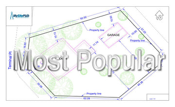 Medium Detail Site Plan - Our Most Popular Plan!