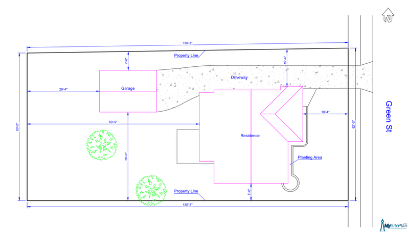 Medium Site Plan - Residential