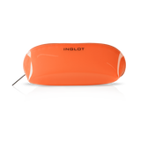 COSMETIC BAG TRANSPARENT ORANGE (R23674B)