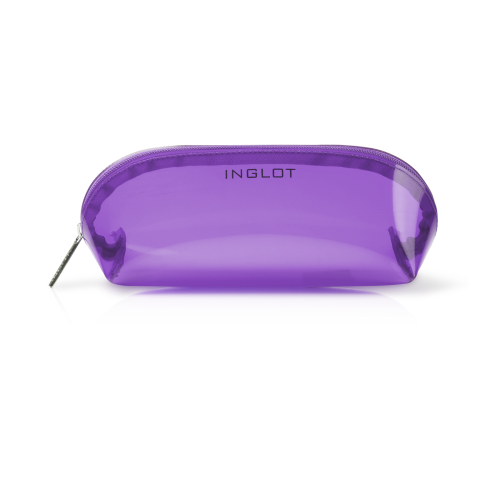 COSMETIC BAG TRANSPARENT PURPLE (R23674G)