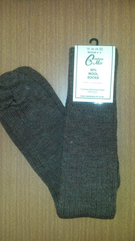 Wool Socks Pheasant Brown